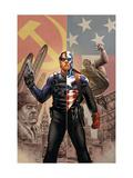 Captain America No.44 Cover: Captain America and Winter Soldier