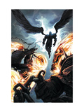 Ghost Riders: Heavens on Fire No.6 Cover: Ghost Rider and Zadkiel