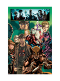 Dark Reign: Young Avengers No.4 Group: Wolverine, Iron Patriot and Hawkeye