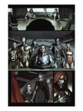 Dark Reign: The Cabal #1 Group: Osborn, Norman, Hawkeye, Wolverine, Sentry and Ms. Marvel