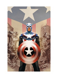 Captain America No.45 Cover: Captain America