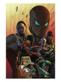 What if? Spider-Man: House of M #1 Cover: Spider-Man and Green Goblin