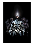 Inhumans 2099 #1 Cover: Black Bolt and Inhumans Flying