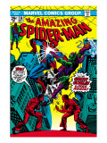 The Amazing Spider-Man No.136 Cover: Spider-Man and Green Goblin