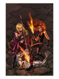 X-Men Forever No.14 Cover: Magik, Shadowcat and Colossus