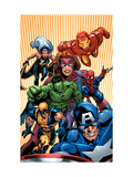 Marvel Two-In-One #14 Cover: Avengers and X-Men