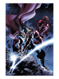 Thor No.80 Cover: Thor and Iron Man