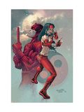 Ultimate Elektra #3 Cover: Daredevil and Elektra