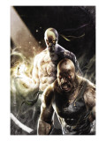 Thunderbolts No.137 Cover: Iron Fist, Cage and Luke