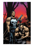 Wolverine Punisher #2 Cover: Wolverine and Punisher