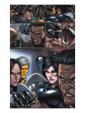 X-Force #8 Group: X-23, Wolverine and Domino