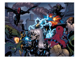 Marvel Knights Spider-Man No.10 Group: Spider-Man, Black Cat, Green Goblin, Lizard and Vulture
