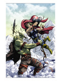 Marvel Adventures Super Heroes No.11 Cover: Thor