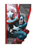 Avengers: Earths Mightiest Heroes No.2 Cover: Captain America