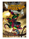 The Amazing Spider-Man No.571 Cover: Spider-Man and Green Goblin