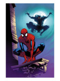Ultimate Spider-Man No.112 Cover: Spider-Man and Green Goblin