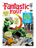 Marvel Comics Retro: Fantastic Four Family Comic Book Cover #1