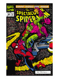 Spectacular Spider-Man No.200 Cover: Spider-Man and Green Goblin