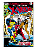 Uncanny X-Men No.124 Cover: Storm, Colossus and Cyclops