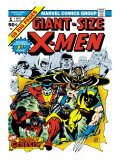 Marvel Comics Retro: The X-Men Comic Book Cover #1