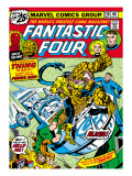 Marvel Comics Retro: Fantastic Four Family Comic Book Cover No.170