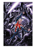 Captain Britain And MI: 13 No.8 Cover: Captain Britain