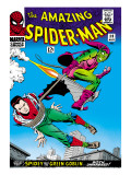 Marvel Comics Retro: The Amazing Spider-Man Comic Book Cover No.39, Green Goblin