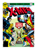 Marvel Comics Retro: The X-Men Comic Book Cover #100, Professor X