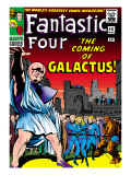 Marvel Comics Retro: Fantastic Four Family Comic Book Cover #48, The Coming of Galactus