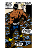 Marvel Comics Retro: Luke Cage, Hero for Hire Comic Panel