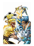 X-Force Volume 2 No.3 Cover: Shatterstar, Sunspot, Cable and X-Force