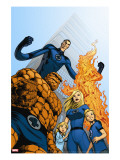 Fantastic Four No.570 Cover: Thing, Invisible Woman, Human Torch and Mr. Fantastic