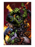 World War Hulk No.2 Cover: Hulk