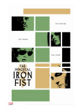 Immortal Iron Fist No.16 Cover: Cage, Luke and Iron Fist