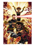 Ultimatum: X-Men Requiem No.1 Cover: Wolverine, Cyclops, Grey and Jean