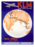 KLM Royal Dutch Airlines Poster