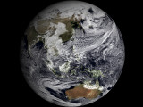January 2, 2009 - Cloud Simulation of the Full Earth