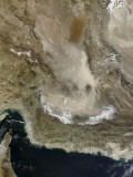 Dust Storm in Iran