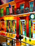 Outside Pat O Briens Bar Giclee Print