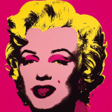 Buy Marilyn Monroe, 1967 (hot pink) at AllPosters.com