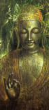 Buddha in Green l Art Print