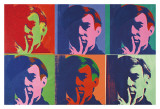 A Set of Six Self-Portraits, 1967