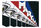 Martini Art Print