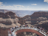 A View of the Skywalk over the Grand Canyon