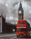 London Red Bus Mini Poster