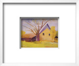 Old Cotton Barn, Beech Island, South Carolina Framed Art Print