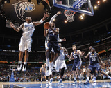 Memphis Grizzlies v Orlando Magic: Tony Allen and Quentin Richardson
