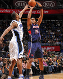 Atlanta Hawks v Orlando Magic: Al Horford and Rashard Lewis Photographic Print