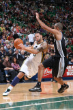 San Antonio Spurs v Utah Jazz: Deron Williams and Tony Parker
