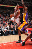 Los Angeles Lakers v Chicago Bulls: Derrick Rose and Lamar Odom
